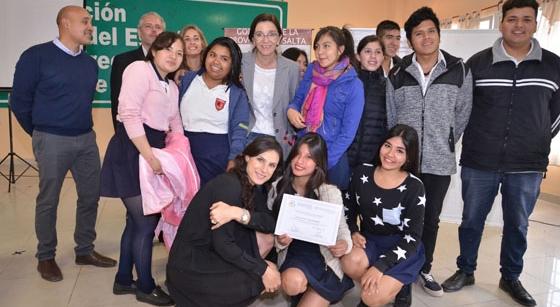 Estudiantes fueron formados como agentes de cambio para la paz social